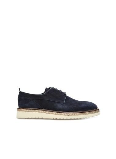 George Hogg George Hogg 7003888 Süet Vizon Erkek Ayakkabı Erkek Ayakkabı Lacivert